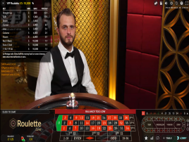Play VIP live dealer roulette online for high limits